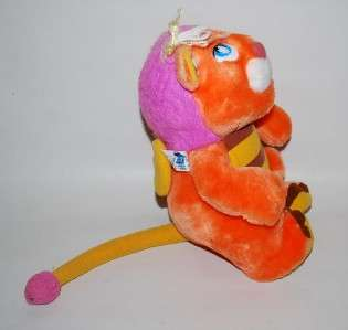 Vintage 1984 Wuzzles Softies Hasbro BUMBLELION Plush Stuffed Dolls