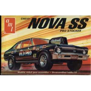 amt Chevy Nova SS Pro Stocker 1/25 Scale Model Kit Toys