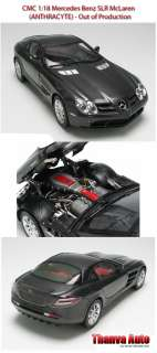 CMC 118 Mercedes Benz SLR McLaren 2003 Anthracyte Last