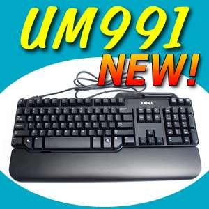 NEW Dell USB Smart Card Reader Keyboard RT7D60 UM991