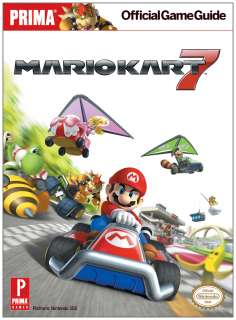 MARIO KART 7 Official Strategy Guide Brand New
