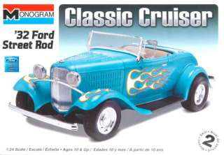 Revell Monogram 124 32 FORD STREET ROD 882
