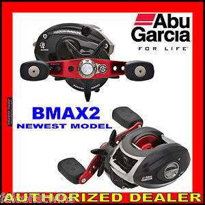 BMAX2 BLACKMAX BLACK MAX 2 ABU GARCIA LOW PROFILE FISHING BAITCAST