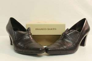 Franco Sarto Womens Travel Pump Brown US 7M and 10M