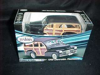 TESTORS 48 CHEVY FLEETMASTER Metal Car Model Kit NIB