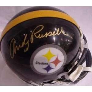 Andy Russell (Pittsburgh Steelers) Football Mini Helmet
