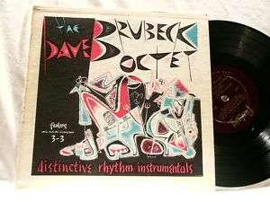 DAVE BRUBECK Octet Cal Tjader Paul Desmond 10 LP