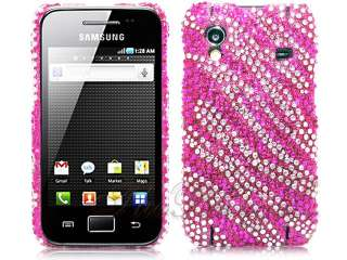 LEOPARD RHINESTONE DIAMOND CRYSTAL CASE COVER SAMSUNG GALAXY ACE S5830