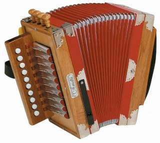 NEW Hohner 3002N Cajun Style Ariette Accordion w/ Case