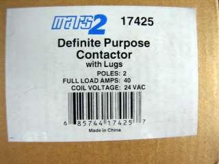 Mars 2 Definite Purpose Contactor NEW in Box 17425