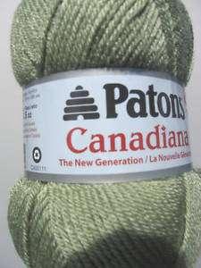 YARN Patons Canadiana NewGeneration 10236 med green t