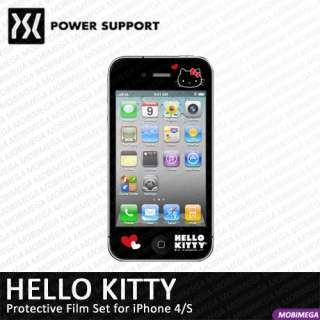 Power Support Hello Kitty Crystal Screen Protector iPhone 4 4S Love