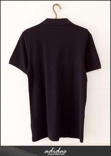 BN Adidas Originals Mens Polo Shirt Black XS XL