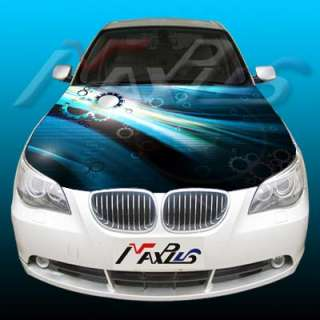 Car Custom Design Hood Bonnet Graphic Decals Stickers 3