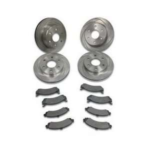 Stainless Steel Brakes A2351022 SHORT STOP SLOTTED ROTOR
