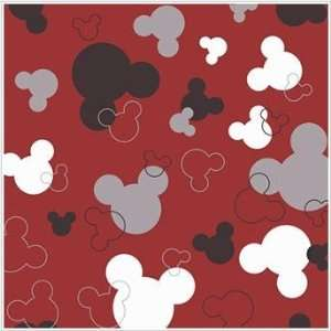 Disney Mickey Mouse Logo Red Wallpaper