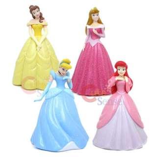 Disney Princess Belle Figure Coin Bank  7 PVC Figure