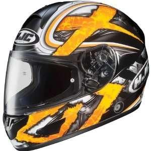 HJC Shock Mens CL 16 Street Racing Motorcycle Helmet   MC