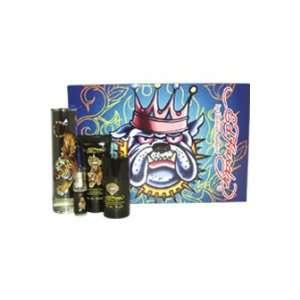 Ed Hardy By Christian Audigier For Men   4 Pc Gift Set 3.4oz Edt Spray