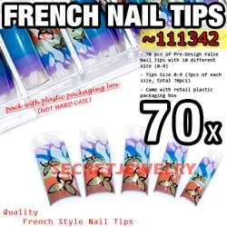 service my store product name 70 pcs acrylic false nail tips fake tips