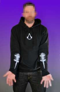 Assassins Creed Revelations►BLADES HOODIE◄t shirt ps3