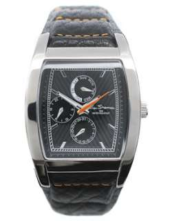 Ben Sherman  Ben Sherman Black Dial Strap Watch at