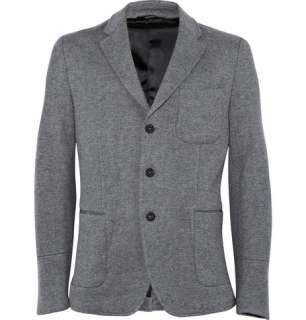Clothing  Blazers  Single breasted  Unlined Wool