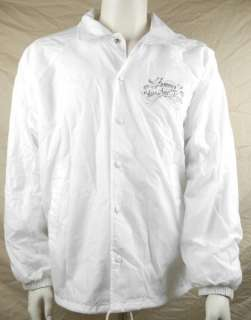 Straps Los Angels Windbreaker Jacket Large White Travis Barker