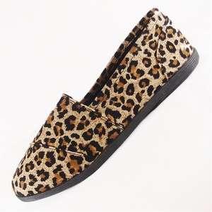 Soda object flat women shoes Tan Cheetah color Leopard Print cute tan