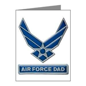 Note Cards (10 Pack) Air Force Dad