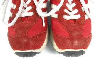 STEVE MADDEN Red White Drama Althetic Sneakers Shoes 7