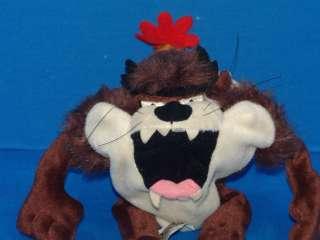 HAPPY BIRTHDAY HAT TAZ TAZMANIAN DEVIL PLUSH STUFFED ANIMAL