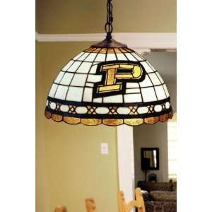 Team Logo Hanging Lamp 16hx16l Purdue State Home Improvement