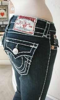 NWT True Religion WMS Becky Super T Jeans Vera Cruz