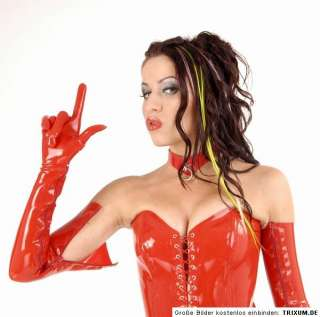Latex Handschuhe Gloves Gummi Rubber no Lack no Leder Anita Berg
