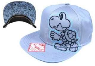 Super Mario Koopa Hat With Enemy Baseball Cap Snap Back Licensed Kid