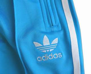 ADIDAS ORIGINALS FIREBIRD TRAININGSHOSE HOSE HELL BLAU/TÜRKIS WEISS