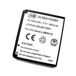 Mugen Power Extended Battery 1600mAh for HTC Desire