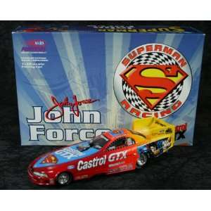 John Force Diecast Castrol/Superman 1/32 1999 Funny Car Toys & Games