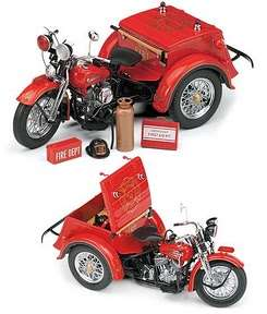 Franklin Mint Harley Davidson Heritage Softail Classic Diecast