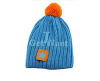 Cute Baby Child Boys Girls Unisex Winter Knit Wool Hat Cap Beanie Gift