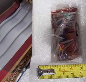79771 MR CHRISTMAS WORLD FAIR SUPER SLIDE SLED RIDE NEW