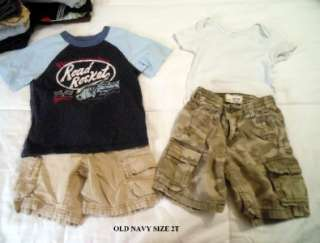 USED BABY TODDLER BOY SPRING SUMMER CLOTHES 24MO 2T OUTFITS SHOES~VGUC