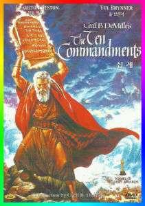 The Ten Commandments (1956)   Charlton Heston DVD NEW