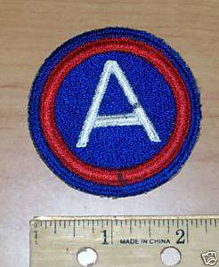 Third Army Shoulder Insignia United States Army Patch