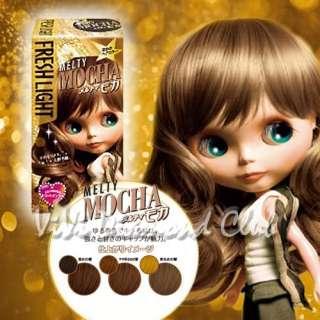 FRESH LIGHT Japan Blythe Doll Hair Color MELTY MOCHA