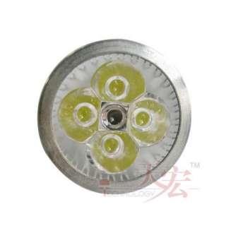 8W Gu10 220V Base 4x2W Led Light Warm White Light Bulb Lamp