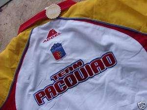 Manny Pacquiao Filipino boxing pacman JACKET w/tags XL