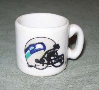 Collectible Sports Seattle Seahawks Football Mini Tiny China Cup Mug