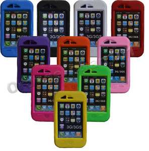 Proof Heavy Duty Case Cover For Apple iphone 3G 3GS 10 Colors